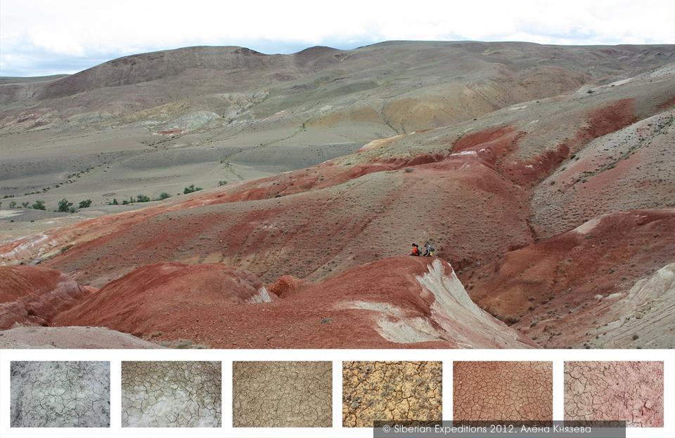 Марсианские пейзажи Алтая, наша первая встреча с Марсом