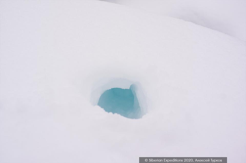 Лыжный тур. Сибирь, Поднебесные Зубья. Снег
