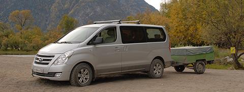 Машина для алтайского путешествия