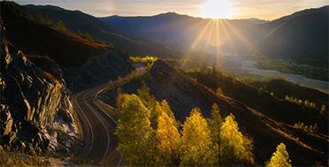 Алтай осенью в сентябре, перевалы Чуйского тракта
