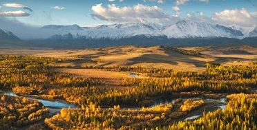 Северо-Чуйский хребет в сентябре